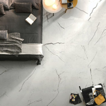 Porcelain Tile Statuario Matt Rectified